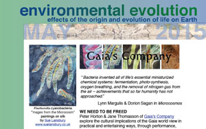May 2015 Environmental Evolution newsletter