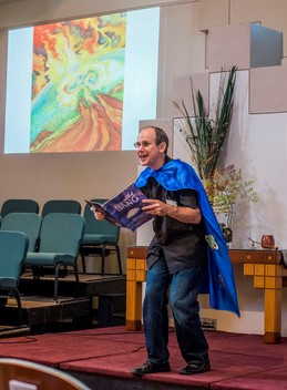 Born With a Bang (Video of Reading in UU Church)
