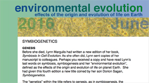 June 2016 Environmental Evolution newsletter