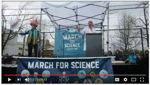 Science March Seattle 2017, Jonathan Tweet speaking