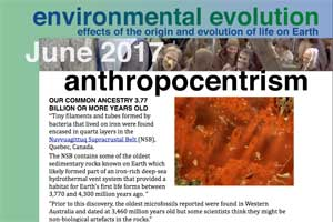 June 2017 Environmental Evolution newsletter