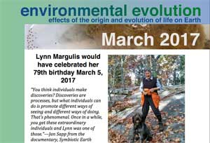 March 2017 Environmental Evolution newsletter