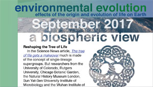September_2017 Environmental Evolution newsletter