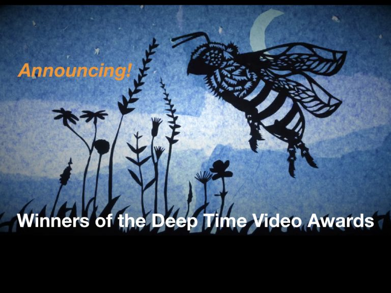 Winners of the 2018 Deep Time Video Awards