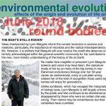 June 2018 Environmental Evolution newsletter