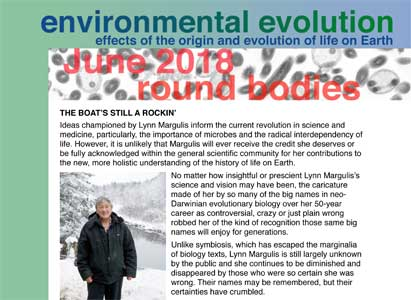 June 2018 Environmental Evolution newsletter