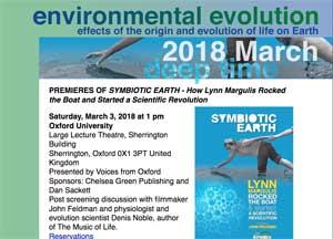 March 2018 Environmental Evolution newsletter