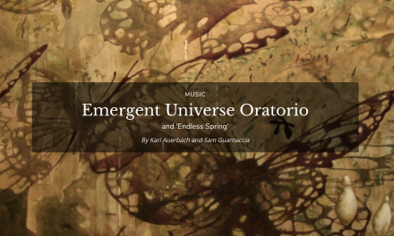 KOSMOS Journal Article/Interview_Emergent Universe Oratorio