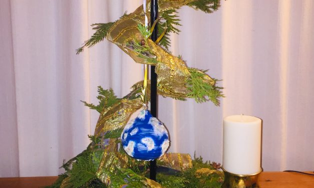 Advent'ure 4 – lighting the candle of emergence.