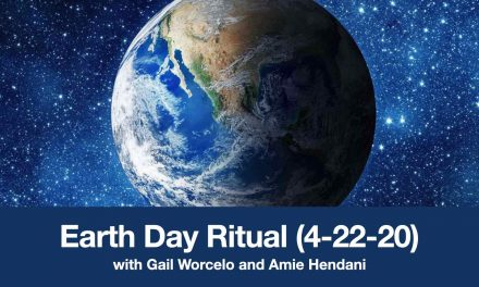 Earth Day Ritual (4-22-20) with Srs. Gail Worcelo and Amie Hendani