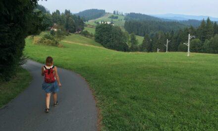 Cosmic Walking in the Czech Republic