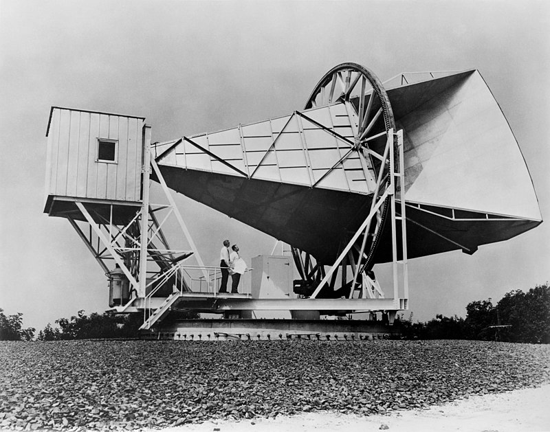 An invitation to visit the Horn Antenna site, in Holmdel, NJ